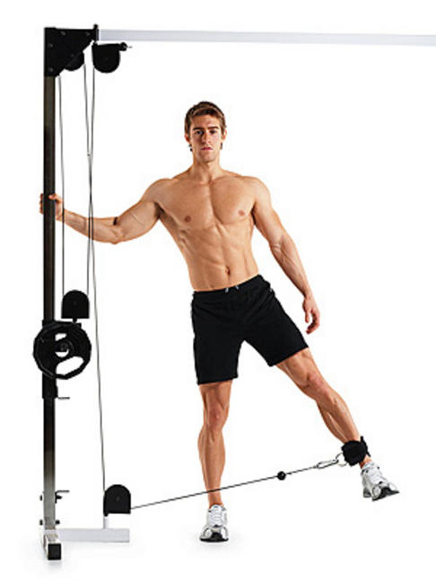The Best Cable Exercises with an Ankle Strap - Cable exercise for inner thigh