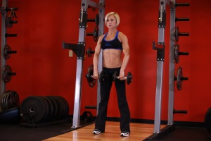 Dumbbell Upright Row - Deltiods