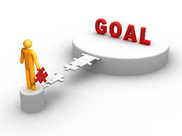 We can only reach are large goals by focusing on our smaller ones first