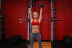 Standing Palms in Dumbbell Press1