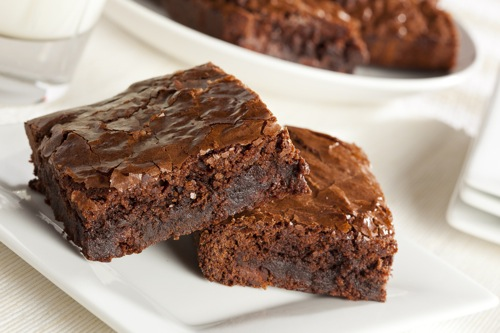 Chocolate-Protein-Brownies