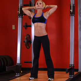 Isometric Neck Exercise - Front And Back