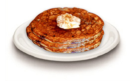 Lemeon blueberry pancake